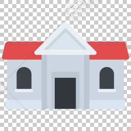 灰色房屋免抠素材下载 图片id 图标元素 Png素材 素材宝scbao Com