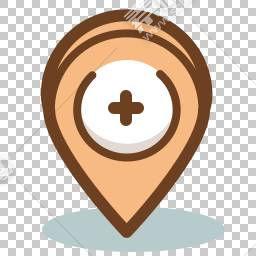 卡通定位坐标免抠素材下载 图片id 产品实物 Png素材 素材宝scbao Com