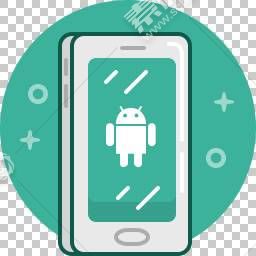 安卓智能手机背景免抠素材下载 图片id 1007 图标元素 Png素材 素材宝scbao Com