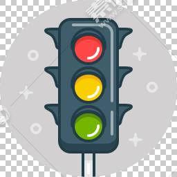 交通信号灯免抠素材下载 图片id 1805 图标元素 Png素材 素材宝scbao Com