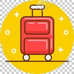 行李箱免抠素材下载 图片id 18 图标元素 Png素材 素材宝scbao Com