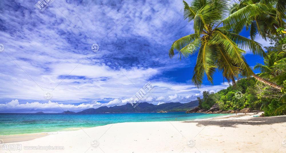 蓝天白云风景摄影