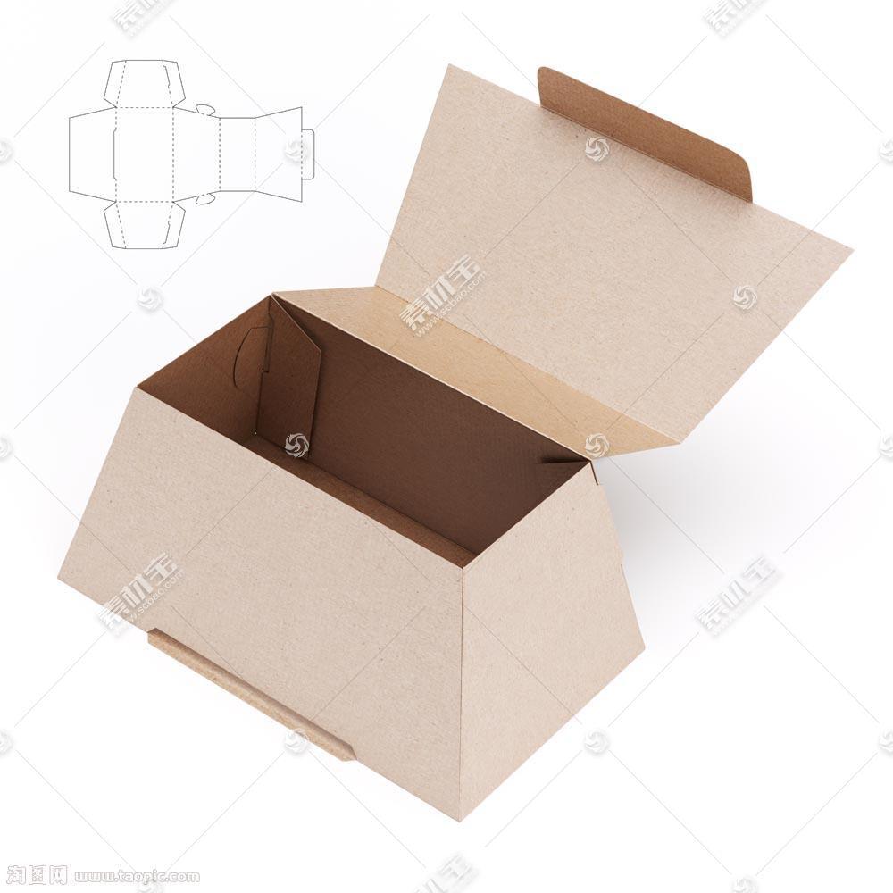 创意梯形包装盒效果