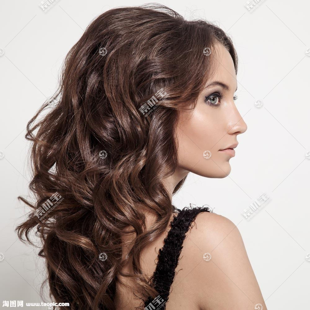 模特长发发型
