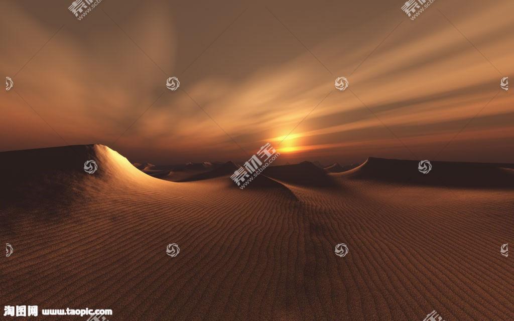 沙漠沙丘背景