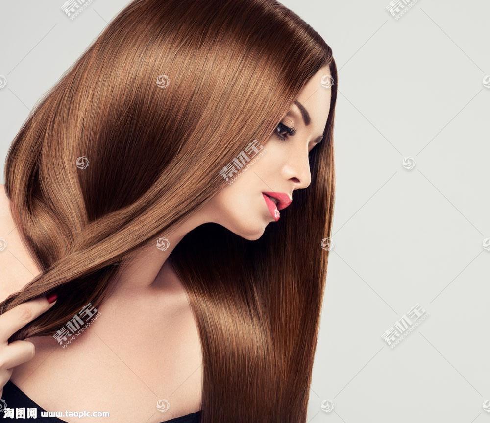 巧克力般的秀发